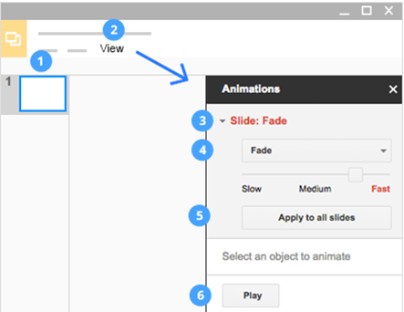 Google Slides – Adding Interesting Animations And Stunning Transitions