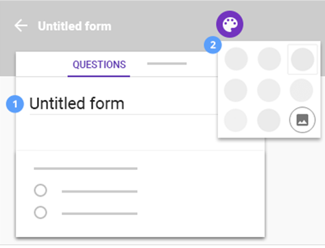 Designing Google Forms Files
