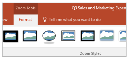 PowerPoint Zoom – Choosing To Come Back To Your Home Page