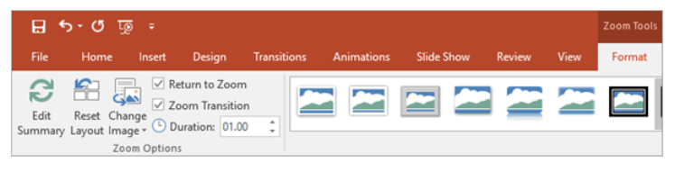 PowerPoint Summary Zoom – Adding And Removing Sections